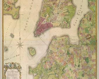 1767 Map of New York City