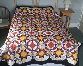 Mystery Quilt - scrappy pieces of happiness