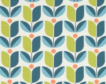 54035 - Joel Dewberry Flora collection PWJD104  Tulip in eucalyptus color - 1 yard
