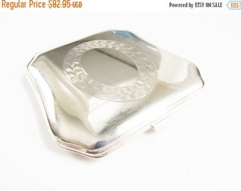 SaLe Vintage Sterling Powder Compact Art Deco 1930s England