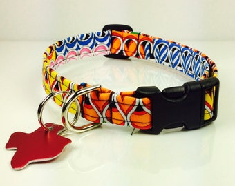 Ribbon Candy - Dog Collar - Adjustable