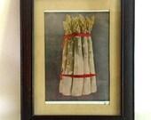vintage Printing and frame - medium