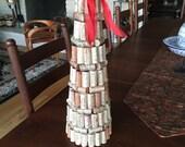 Wine cork holiday tree