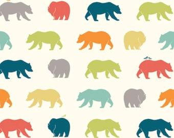 Just For Fun KNIT - Bear Hike Multi from Birch Fabrics