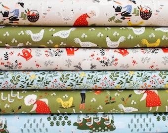 Half Yard Bundle - Gardening from Windham Fabric Bundle - 6 Half Yard pieces (B382)