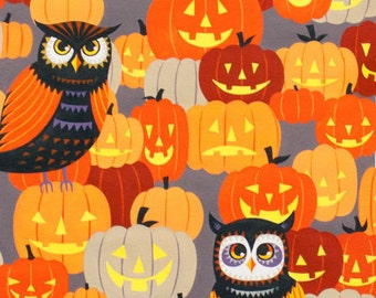 Haunted House - Owl Be Seeing You Grey from Alexander Henry