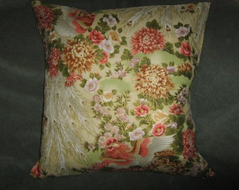 "PHOENIX BIRD  18"" Pillow Cover"