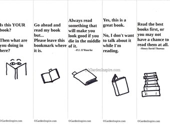 Bookmarks for Readers