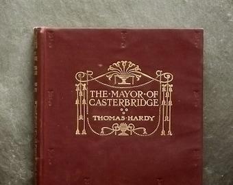 Vintage 1920s Thomas Hardy novel The Mayor of Casterbridge