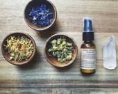 EYE MAKEUP REMOVER, argan oil + cornflower, vegan makeup remover