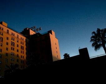 Roosevelt Hotel Sunset - Los Angeles California