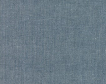 Moda Chambray cotton grey fabric by Moda fabric 12051 12