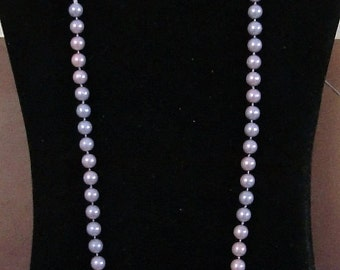 28  inch FAUX PEARL NECKLACE. like new condition