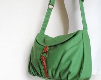 Back To School SALE 30% - Fortuner-S in Army Green / Purse/ Laptop / Shoulder / Messenger Bag /Handbag / Wallet /Diaper Bag/ School Bag/ Wom