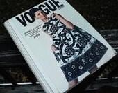 Vintage 1960s 60s Vogue Paris Original Couturier Sewing Pattern Counter Catalog Fashion Book