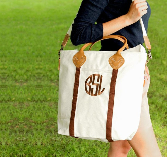 Monogrammed Travel Tote-Personalized Carry On Bag-Canvas Flight Bag-Monogrammed Canvas Bag-Bridal Gift