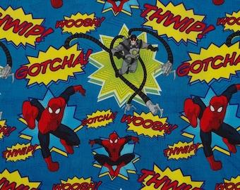 C219 - 105cmx100cm Cotton Fabric - Spiderman