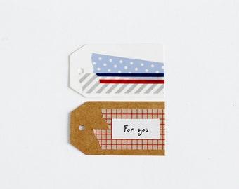 Medium Plain Kraft Gift Tags