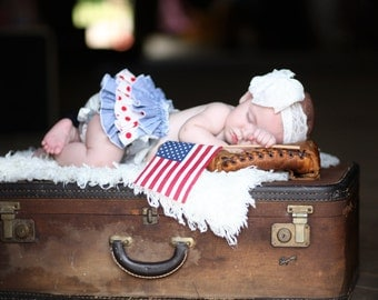 Take me out to the BALLGAME Ruffle Baby Bloomers
