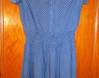Sweet Polka-Dot Dress