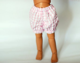 YoSD Pink Gingham Bloomers For BJD - One Only