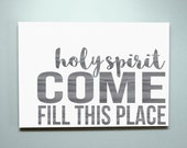 15x20 Holy Spirit Wood Sign
