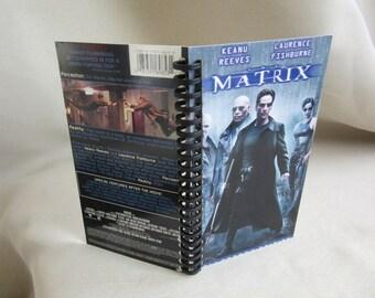 Matrix VHS box notebook
