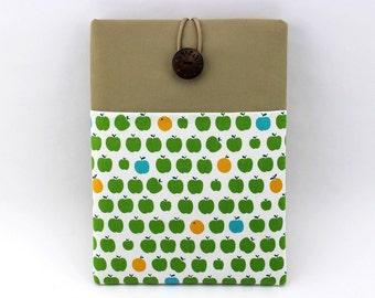 Gift For Mom/iPad Sleeve/iPad Case/iPad Cover/Green Apple