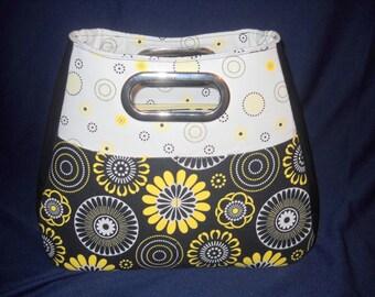 Modern Hipster Bag, Large Cutout Handle, Swoon Patterns, Ethel Bag