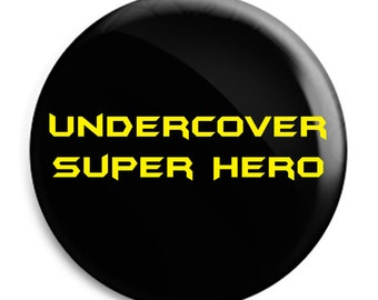 Undercover Super Hero Black Badge