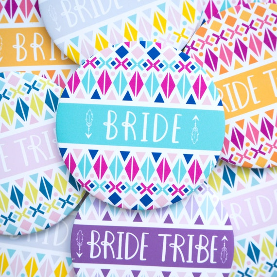 Bride Tribe Hen Party Badges - Hen do - Hen Party Accessories - Hen Weekend - Bachelorette Party - Hen do gift - Team Bride