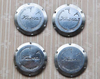KAMA back lids Vintage Soviet Russian wrist watch parts.