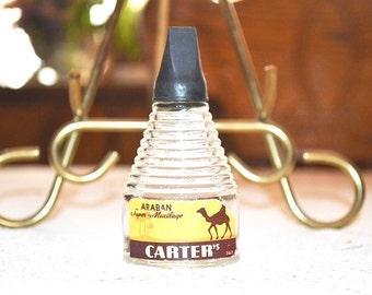 Vintage Carter Arabian Musilage Bottle