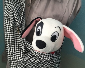 pet sling dog cat bunny ferret carrier  for any small pet  XXS TO 4XL available size free clip pick your fabric