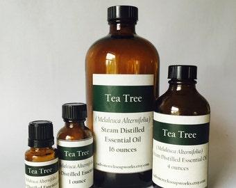 Tea Tree Essential Oil, Melaleuca Alternifolia, Australian Tea Tree, bulk essential oils