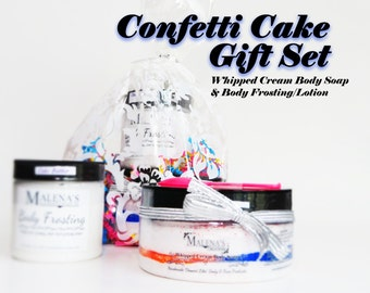 Whipped Body Soap & Body Frosting/Lotion Gift Set