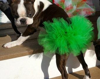 St. Patrick's Day Dog Tutu:  Emerald Green  Dog Tutu - Small, Medium, or Large
