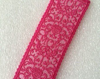 "For Mother's Day.....1 ""Mom"" Bookmark (Lace)"