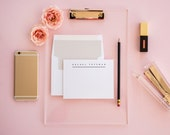 B|E Adored Personalized Stationery Set