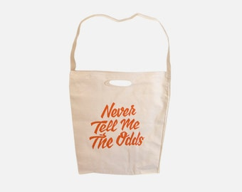 Never Tell Me the Odds | Canvas Tote Bag
