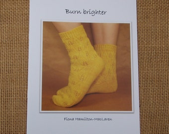Knitting pattern- Burn brighter