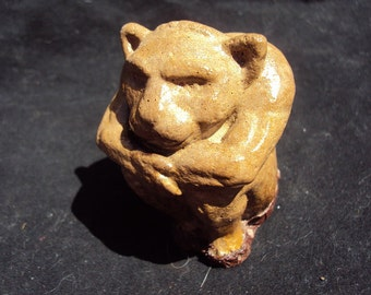 Small Gargoyle with rubber bottom, Handmade in USA