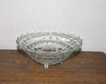 Indiana Glass Whitehall 10 Inch Footed Bowl