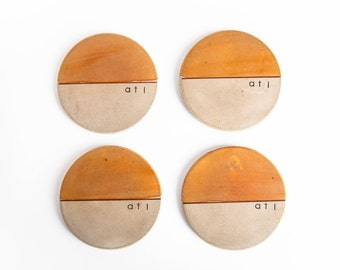 Concrete Coasters- ATL Series, Customizable, Wedding Gift, Housewarming Gift, Functional Art, Gift under 50
