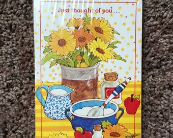 Vintage Retro Postcards - Thought of you - unopened