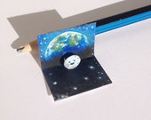 "Tiny ""Moon at Earth-rise"" Pop-Up Card"
