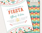 Fiesta Baby Shower Invitation, Mexican Fiesta Invite Printable, Mexican Party