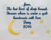 Embroidered Personalized ...