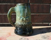 Tankard, Mug, Beer Mug, Stein, Viking Ship, Viking Ale Anchor
