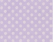Spot On Pearl Dots on Lavender From Robert Kaufman
